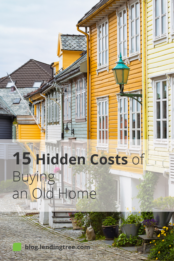 Before you succumb to the charm of an older home, consider the possible additional hidden costs of the renovations the home may need.
