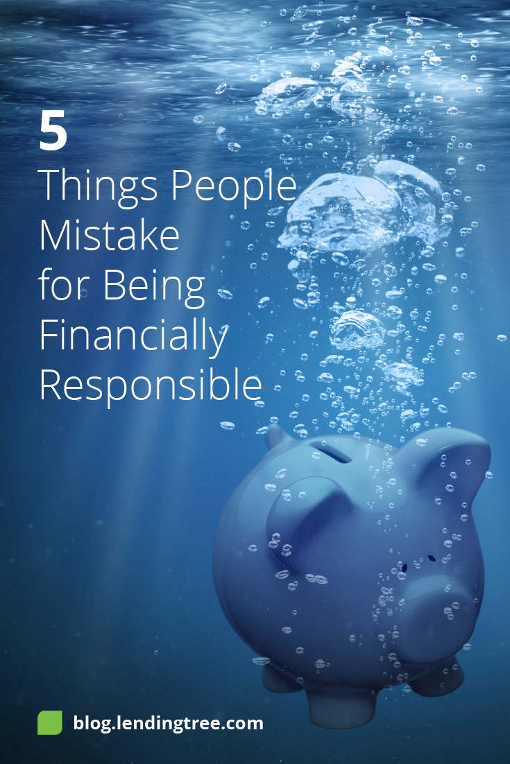 Many of us think that being a financially responsible person means simply managing our money and saving. But perhaps it's a bit more than that.