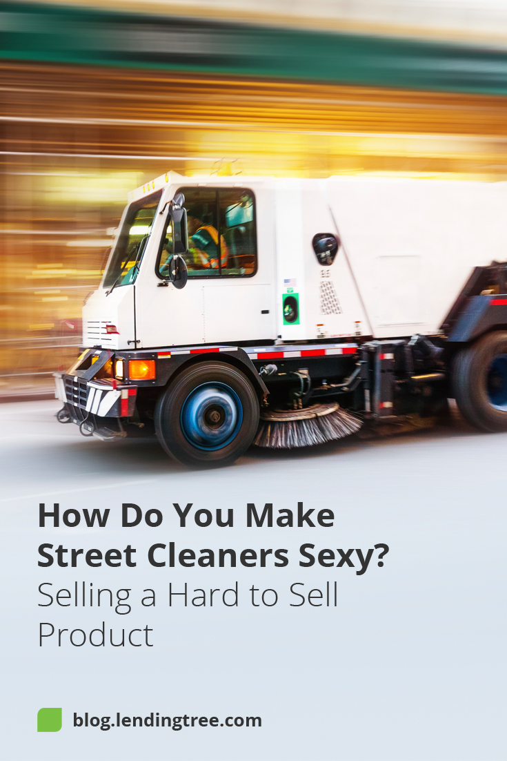I almost had a glamorous career selling street cleaners. LendingTree editor Mike Ouyang talks about his experience interviewing for a job before joining LendingTree. Read up on his advice regarding marketing tough-to-sell products most people probably find uncool.